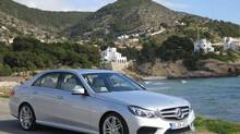 2014 Mercedes-Benz E-Class (Richard Russell for The Globe and Mail)