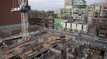 Toronto is scaling back plans to hike development fees on new homes. (Pawel Dwulit/THE CANADIAN PRESS)