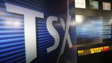 A Toronto Stock Exchange (TSX) logo is seen in Toronto in this file photo. (© Mark Blinch / Reuters)
