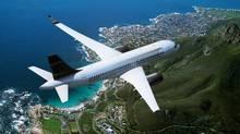 An artist's rendering of Bombardier's C-series jet. (Bombardier Inc.)