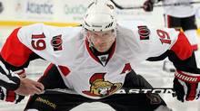 Jason Spezza of the Ottawa Senators. (Photo by Jim McIsaac/Getty Images) (Jim McIsaac/Getty Images)
