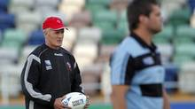Canadian rugby team coach Kieran Crowley. (file photo) (CHRISTOPHE ENA/AP)