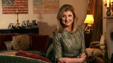Arianna Huffington in her home in Los Angeles, November 23, 2010. (Ann Johansson for The Globe and Mail)