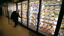 In the frozen food aisle, you can find meals that are organic, low in calories or made with whole grains. JOHN LEHMANN/THE GLOBE AND MAIL