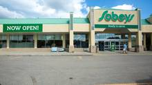 The local Sobeys is now open in High River, Alberta on Tuesday, July 23, 2013. (Chris Bolin For The Globe and Mail)