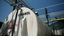 A storage container of ethanol at the Iogen plant in Ottawa. (File ohoto) (Dave Chan/Dave Chan for The Globe and Mail)