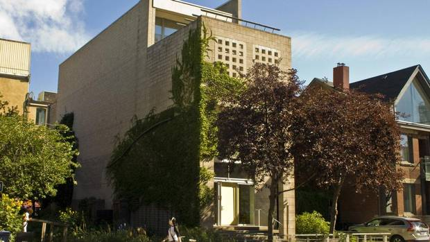 The home at 548 Richmond St. W. won the 1997 Ontario Association of Architects Award of Excellence for residential design. (unknown)