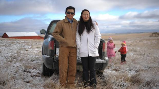 Sheldon Zou, 41, is a newcomer – to farming, to Ogema, Sask. and to Canada. He immigrated from China in 2008, an entrepreneur with a background in engineering and a brief history of running a broadband company in the U.S. During a drive across Saskatchewan, he became enchanted with the Prairies, and the investment possibilities of farmland. (MARK TAYLOR FOR THE GLOBE AND MAIL)