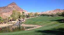 The Cascata golf course in Las Vegas features nearly 1,000 metres in elevation changes – and a waterfalls, no less. (Adam Stanley for The Globe and Mail)
