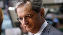 Citigroup's CEO Vikram Pandit gives an interview on the floor of the New York Stock Exchange in this June 18, 2012 file photograph. (BRENDAN MCDERMID/REUTERS)