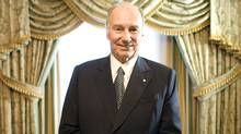 His Highness the Aga Khan (Peter Power/Peter Power/The Globe and Mail)