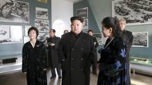 North Korean leader Kim Jong-un gives field guidance to the Sinchon Museum in an undated photo released by North Korea's official news agency on Nov. 25, 2014. (KCNA/REUTERS)