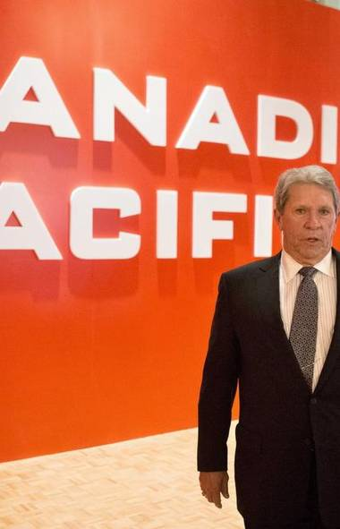 1. Hunter Harrison, Canadian Pacific Railway Ltd., $49.2-million (Chris Young/The Canadian Press)