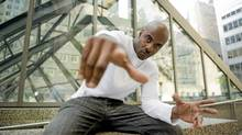 August 11/2010 -- Wesley Williams, better known as Maestro and formerly Maestro Fresh-Wes, is a Canadian rapper, record producer, and actor. (Sarah Dea/The Globe and Mail/Sarah Dea/The Globe and Mail)