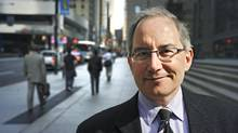 David Pecaut, of Boston Consulting Group, photographed on Bay St. in downtown Toronto, Ont. May 20/2009. (Kevin Van Paassen/Kevin Van Paassen/The Globe and Mail)