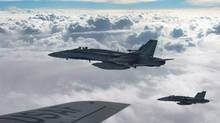 PM Justin Trudeau promised during the election to pull Canada's CF-18 fighter jets but pledged a more robust training mission. (Staff Sgt. Perry Aston/THE CANADIAN PRESS)