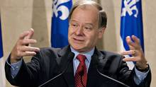 Quebec Finance Minister Raymond Bachand (JACQUES BOISSINOT)