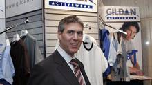 Glenn Chamandy, CEO of Gildan. (Andre Pichette/The Globe and Mail)