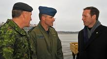 efence Minister Peter MacKay and General Walter Natynczyk, the Chief of the Defence Staff, tour CFB Trenton with Colonel Russell Williams in January, 2010. (Warrant Officer Carole Morissett/Canadian Department of National Defence Photo)