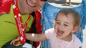 Marathon runner Pete Laporte