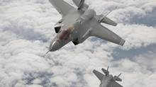 The F-35 has emerged as the front-runner to replace Canada's fleet of F-18s. (Tom Reynolds)