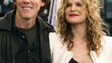 Actor Kevin Bacon and his wife, actress Kyra Sedgwick (SHANNON STAPLETON/REUTERS)