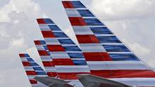 On Tuesday, March 14, 2017, American Airlines said it will offer free meals to everyone in economy on certain cross-country flights starting May 1, 2017. (Alan Diaz/AP)
