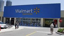 Walmart store at Square One shopping centre in Mississauga , Ontario. (Fernando Morales/The Globe and Mail)