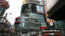 A court has ruled that Toronto can start levying a billboard tax expected to generate an estimated $10.4-million a year for arts initiatives in the city. (Fernando Morales/The Globe and Mail)
