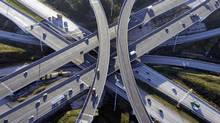 Canam Group Inc., which is supplying steel components used to build two overpasses for Ontario's Highway 407 east extension project, reported weak fourth-quarter results that missed estimates on all key metrics. (Handout)