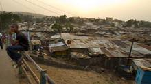 The Kroo Bay Slum in Freetown, Sierra Leone, on April 19, 2012. (Peter Power/The Globe and Mail)