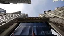 The New York Stock Exchange (ERIC THAYER/REUTERS)