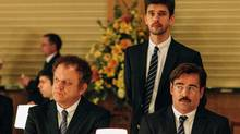 In The Lobster Colin Farrell plays a poor sap recently dumped by his wife.