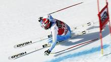 Bode Miller competes with Head equipment during the Audi FIS Alpine Ski World Cup downhill training in January, 2015, in Wengen, Switzerland. (Alexis Boichard/Agence Zoom/Getty Images)