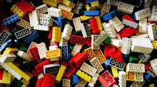 Canadian toy maker Mega Brands is challenging Lego's attempts to use trademark laws in the United States to protects its mini-bricks, seen above, from competition. (ANDERS BROHUS/AP/ANDERS BROHUS/AP)