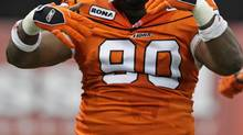The Montreal Alouettes have released veteran defensive tackle Aaron Hunt. (DARRYL DYCK/THE CANADIAN PRESS)