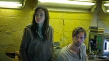 Ellen Page, left, and Alexander Skarsgard in a scene from The East. (Myles Aronowitz/THE CANADIAN PRESS)