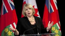 Ontario Health Minister Deb Matthews answers question following the Auditor General's special report on Ornge air ambulance operations Mar. 21, 2012 at Queen's Park. (Moe Doiron/The Globe and Mail/Moe Doiron/The Globe and Mail)