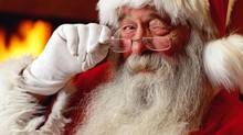 Why is Santa winking? (Stockbyte/Getty Images)