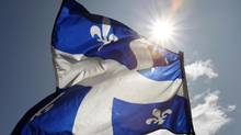 Quebec on March 30 sold $500-million of bonds, due September, 2027, at 77 basis points above similar-maturity Canada bonds, the tightest spread since the province first issued the debt. (Mathieu Bélanger/REUTERS)