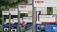An Exxon station is shown in Keller, Tex. (Donna McWilliam)