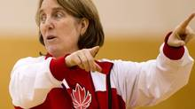 Canadian women's national basketball team coach Allison McNeill directs her team during practice at the University of the Fraser Valley in Abbotsford, B.C., on Wednesday May 16, 2012. DARRYL DYCK FOR THE GLOBE AND MAIL (DARRYL DYCK For The Globe and Mail)