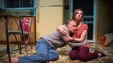 Patrick McManus, Susan Coyne star in The Realistic Joneses, playing at the Tarragon Theatre in Toronto. (Cylla von Tiedemann)