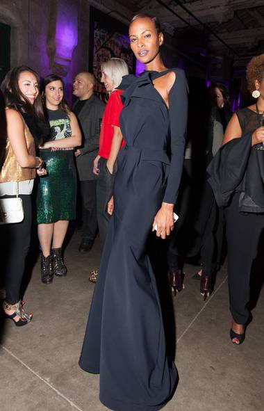 Yasmin Warsame attends FASHION magazine's 35th anniversary party. (Kevin Gonsalves)