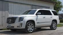 The 2015 Cadillac Escalade. (Amee Reehal/TractionLife.com)