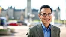 Liberal MP Ted Hsu in Ottawa on May 10, 2011. (Dave Chan For The Globe and Mail)