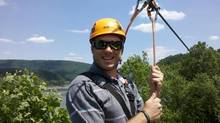 Ryan O'Grady is the owner of Fotaflo, a photo service company based just outside Delhi, Ont., created specifically for zip line and canopy tour companies. (Fotaflo)