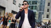 Robin Thicke (Charles Sykes/THE CANADIAN PRESS)