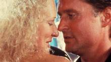 Glenn Close and Michael Douglas in Fatal Atrraction (1987): A married man's one night stand comes back to haunt him when that lover begins to stalk him and his family.