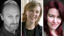Rafael Goldchain, Angela Grauerholz and Isabelle Hayeur, left to right, are finalists for this year's Scotiabank Photography Award.